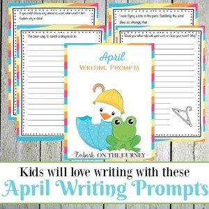 April Prompts
