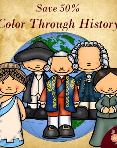 Color Your Way Through History