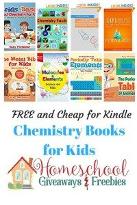 Free and Cheap Kindle Chemistry