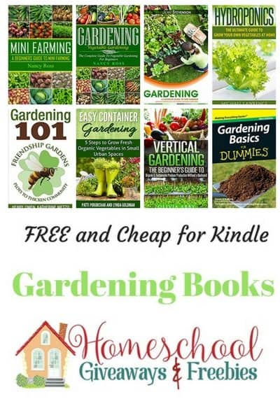 Free and Cheap Kindle Gardening Books