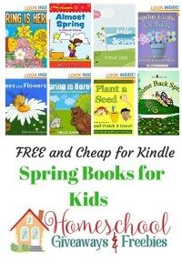 Free and Cheap Kindle  Spring Books