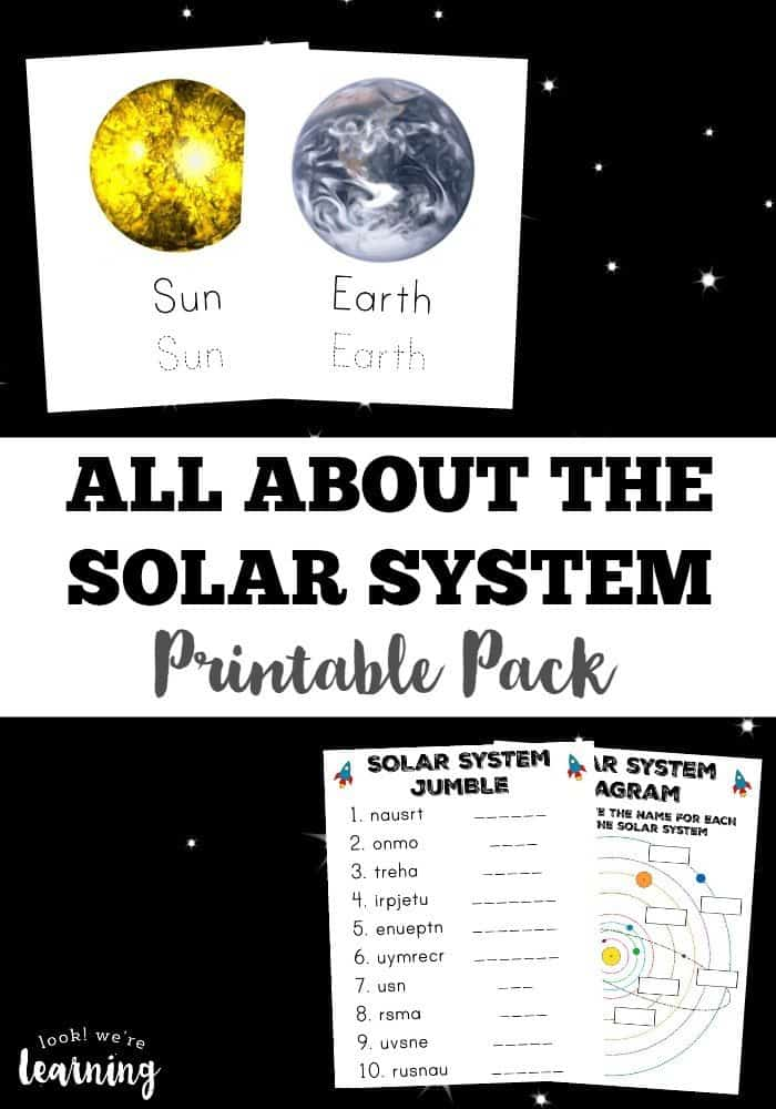 our solar system packet - photo #29