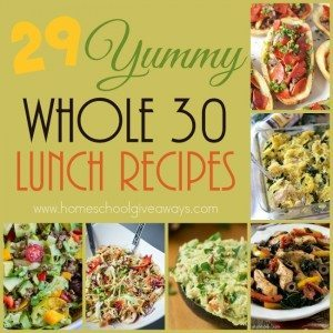 Trying to stick to your Whole30 lifestyle, but need some variety? Check out these delicious lunches. :: www.homeschoolgiveaways.com