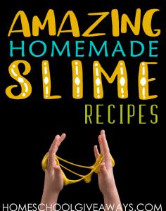 amazing homemade slime
