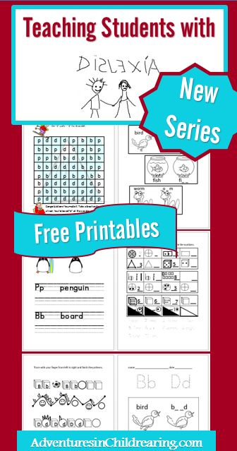 Teaching Students With Dyslexia With Free Printables