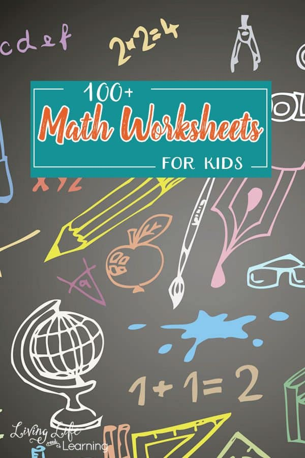100+ FREE Printable Math Worksheets for Kids | Homeschool Giveaways