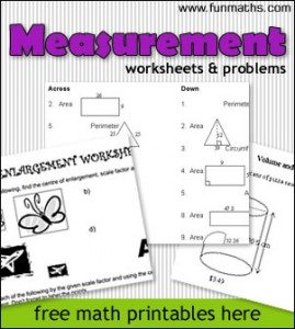 measurement_worksheets