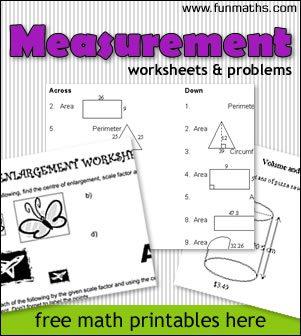 free measurement geometry worksheets problems for highschool homeschool giveaways. Black Bedroom Furniture Sets. Home Design Ideas