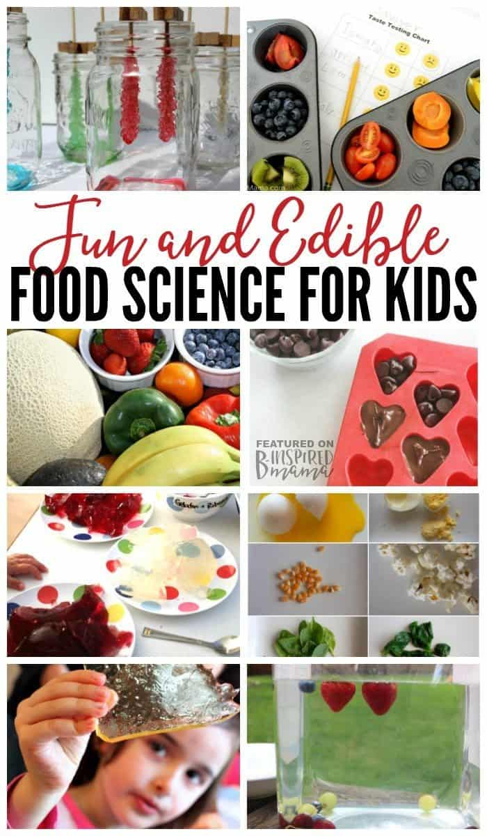 Fun And Edible Food Science For Kids Homeschool Giveaways