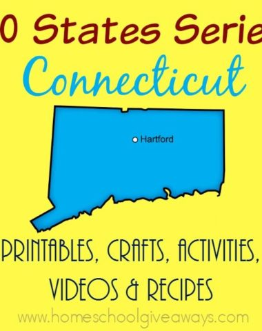 We have gathered everything you need to know for studying the state of Connecticut. From printables to crafts, to recipes to sites to see - it's all here. :: www.homeschoolgiveaways.com