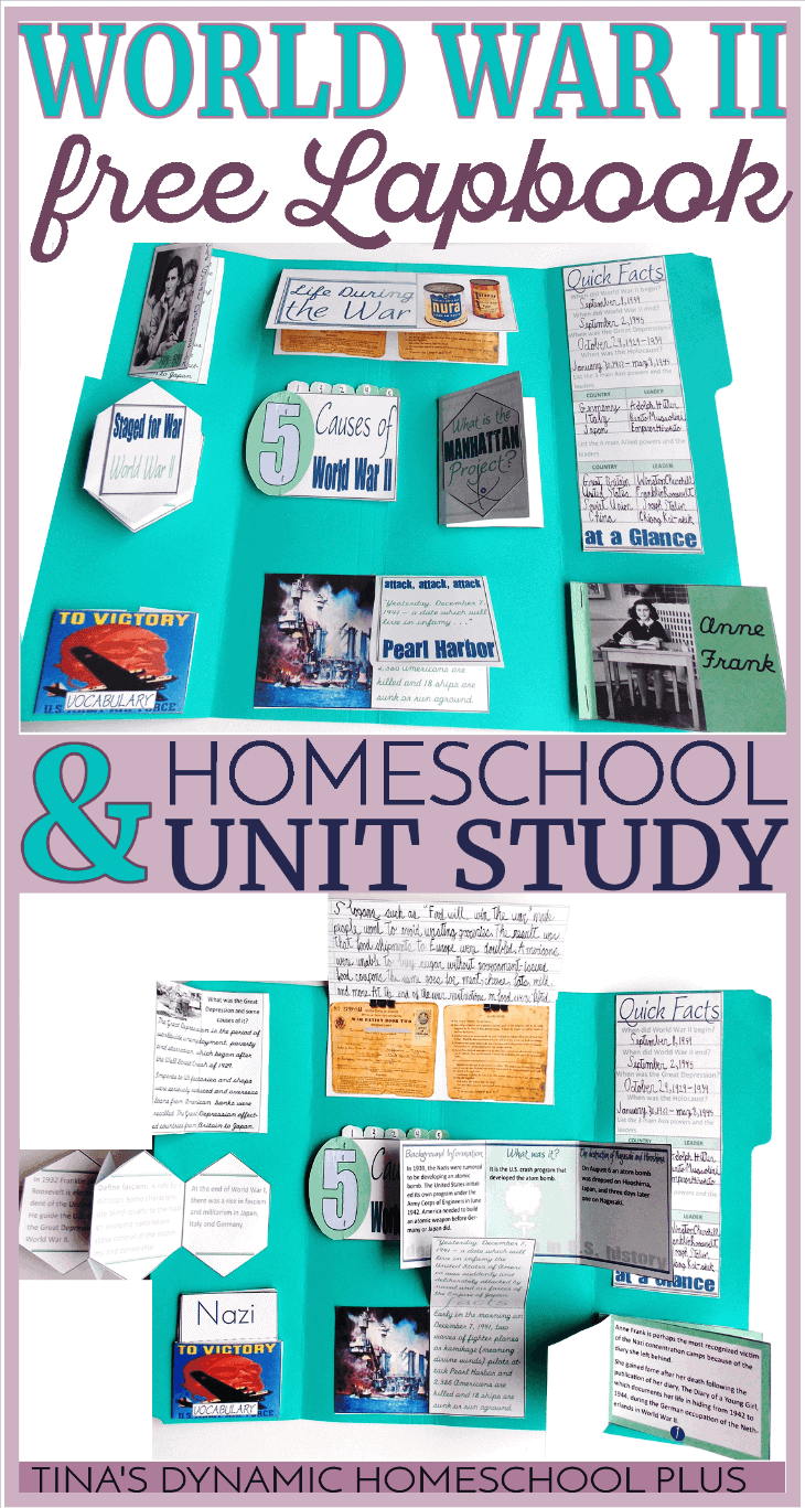 Free-World-War-II-Unit-Study-and-Lapbook-@-Tinas-Dynamic-Homeschool-Plus