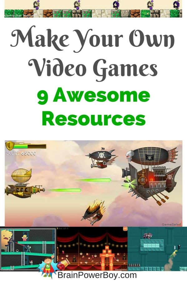 9 Awesome Resources To Make Your Own Video Games
