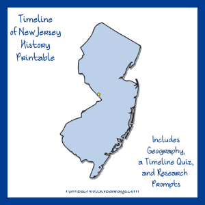 New Jersey History Printable