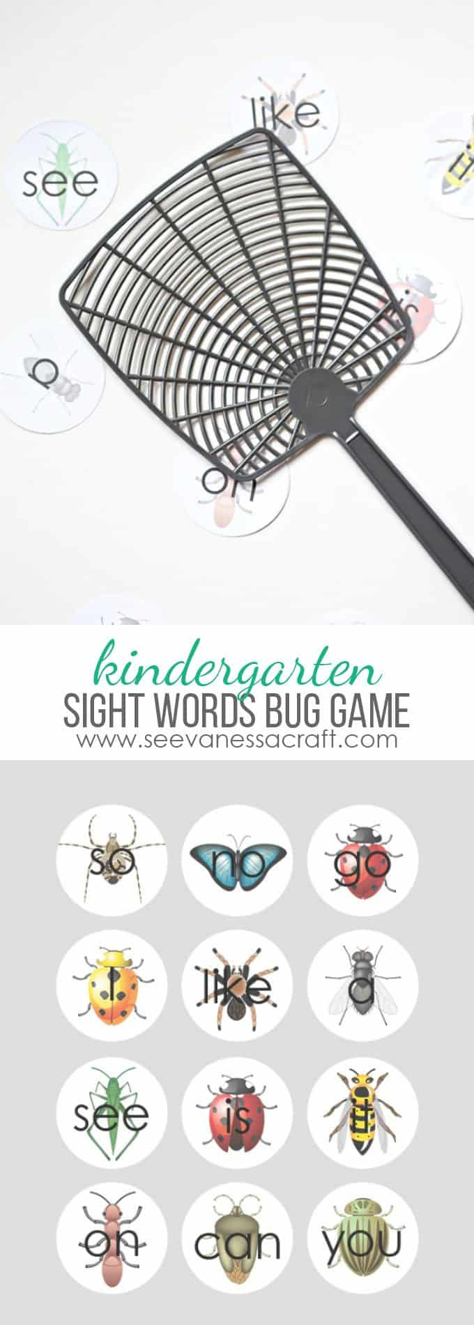 Sight-Words-Bug-Game-for-Kindergarten