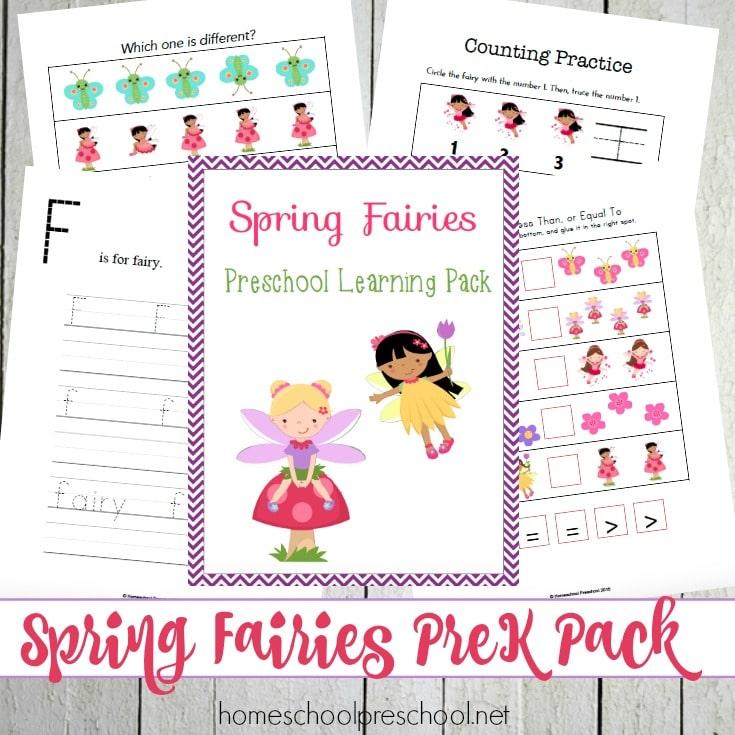 Spring Fairies Pack