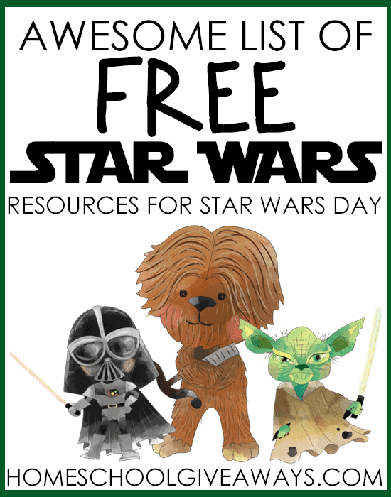 image relating to Star Wars Bookmarks Printable called Remarkable Checklist of Free of charge Star Wars Materials for Star Wars Working day