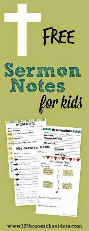 sermonnotes