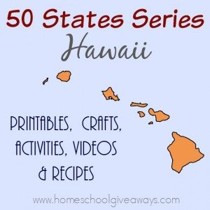 Never been to the state of Hawaii? No worries. This fun unit study will make you feel like you have! Experience the food and culture through printables, activities, recipes and more! :: www.homeschoolgiveaways.com