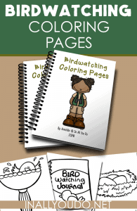 Birdwatching-Coloring-Page