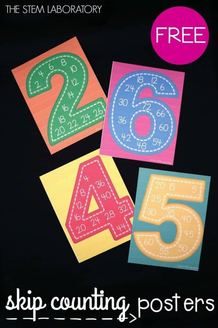 Free-Skip-Counting-Posters-These-are-perfect-for-a-kindergarten-or-first-grade-classroom.-Could-even-use-them-for-teaching-multiplication