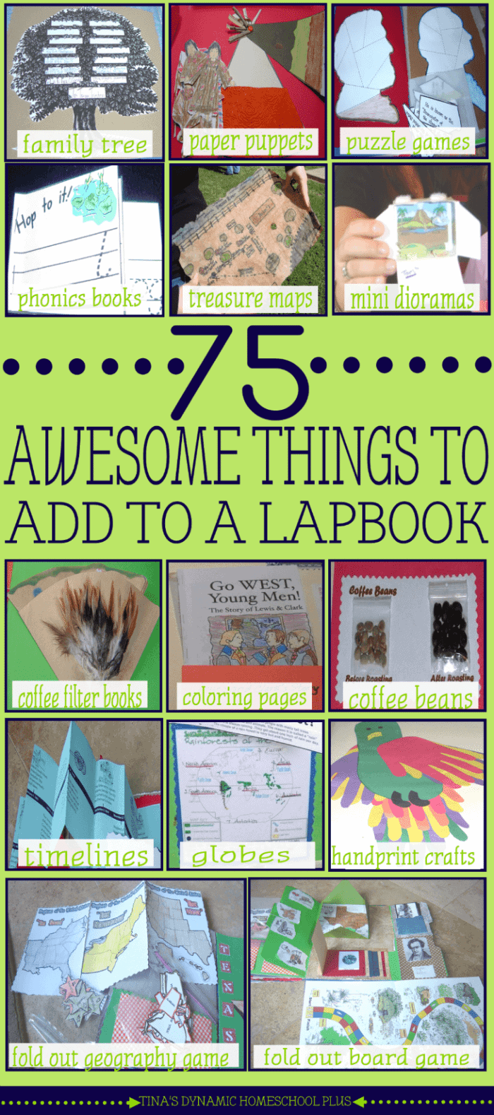 75-AWESOME-Things-to-Add-to-A-Lapbook-@-Tinas-Dynamic-Homeschool-Plus