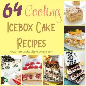 During the super hot days of summer, no one wants to use the oven. Check out these cooling Icebox Cake Recipes, that don't require heat! :: www.homeschoolgiveaways.com