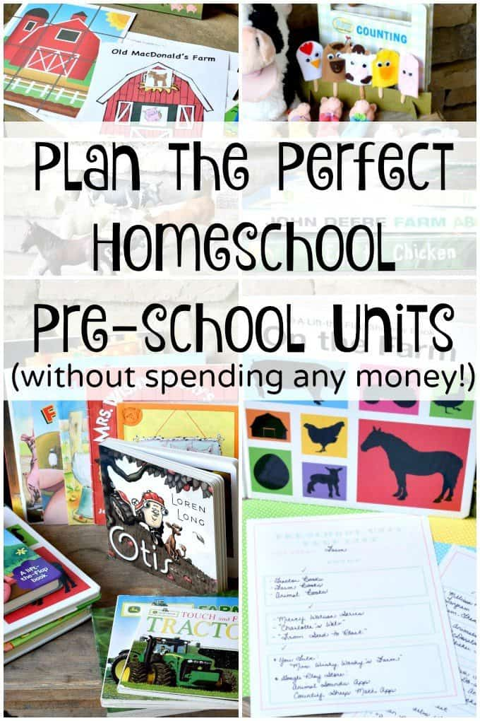 Plan-the-Perfect-Homeschool-Preschool-Units-without-spending-any-money-1