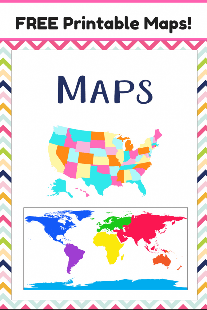 Free printable maps homeschool giveaways Free house maps