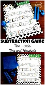 subtraction-Game-two-levels-tens-and-hundreds