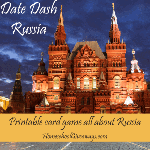 Date Dash Russia - Russian History Card Game