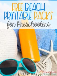 FREE Beach Printable Packs