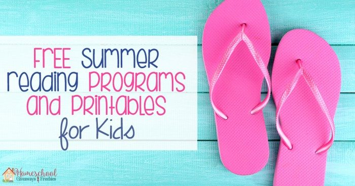 FREE Summer Reading Programs and Printables FB
