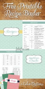 FabNFree-FreeRecipeBinderPrintables