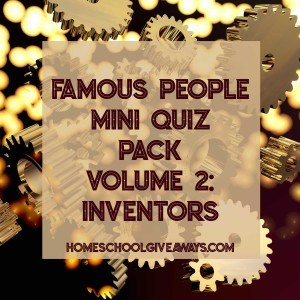 FREE Famous People Mini Quiz Pack Volume 2 - Inventors