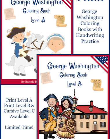 George Washington Coloring Books Limited Time Freebie