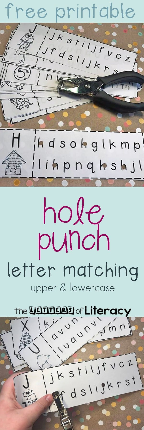Hole-Punch-Letter-Match-Free-Printable