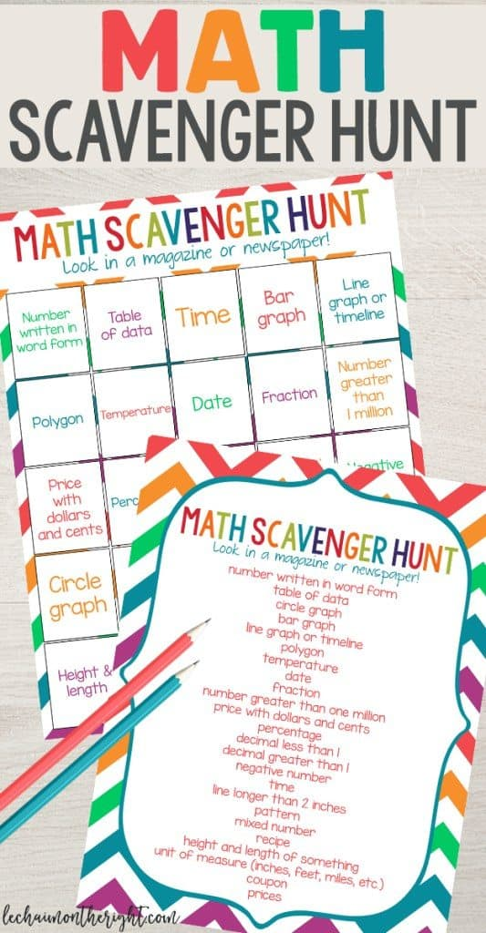 17 Best images about scavenger hunt boards and printables ... |Scavenger Hunt Printable Games Worksheets