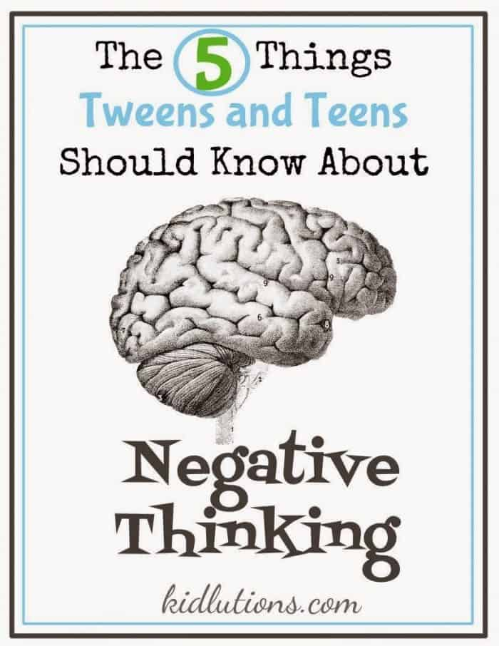 The 5 Things Teens Negative Thinking (2)