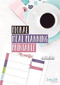 floral-meal-planning-printable