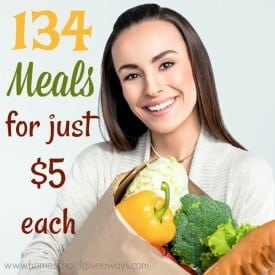 Do you have a tight budget, but don't want to compromise on the taste of food? Check out these delicious meals all for just $5 each! :: www.homeschoolgiveaways.com