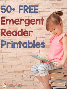 50 FREE Emergent Reader Printables
