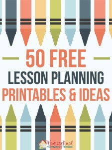 50 FREE Lesson Planning Printables and Ideas