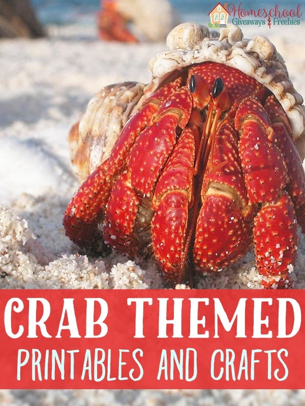 Crab Printables and Crafts