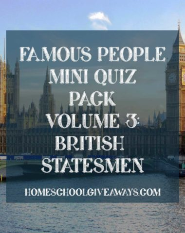 FREE Famous People Mini Quiz Pack Volume 3 – British Statesmen