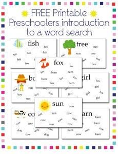 Preschool-Word-Search