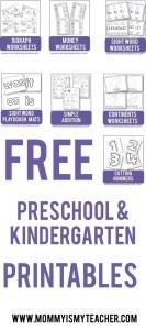 preschoolprintables