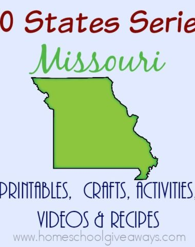 I have gathered everything you need to teach and learn about the great state of Missouri. :: www.homeschoolgiveaways.com