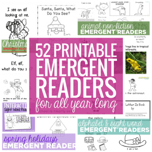 52-Printable-Emergent-Readers-for-All-Year-Long