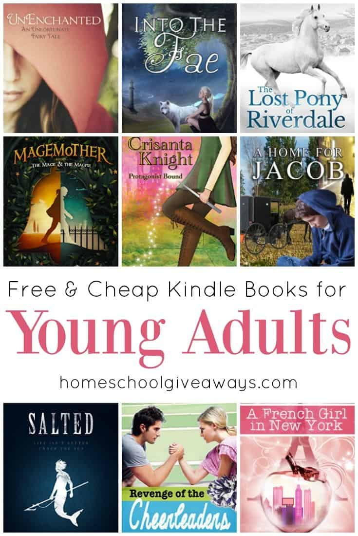 cheap kindle books for young adults