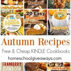 Autumn Recipes 9.18